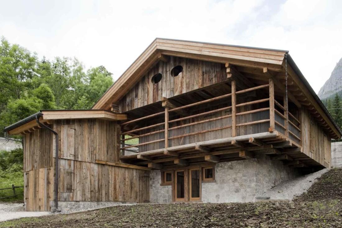 Alpine Barn Exit Architetti Associati Archdaily