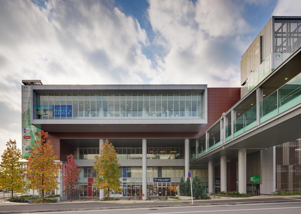 Tama Plaza Station / LaguardaLow Architects, Courtesy of  laguardalow architects