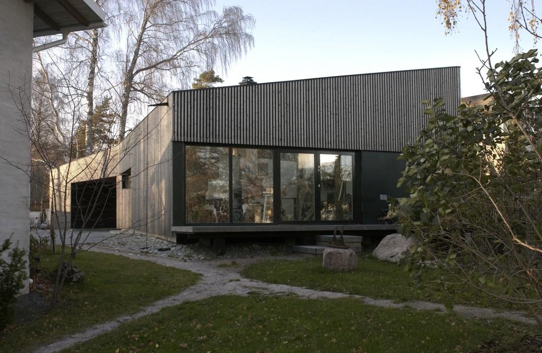 Atelier-House / Huttunen-Lipasti-Pakkanen Architects, © Marko Huttunen