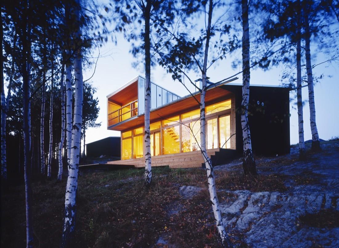 Villa Linnanmaki / Huttunen-Lipasti-Pakkanen Architects, © Marko Huttunen