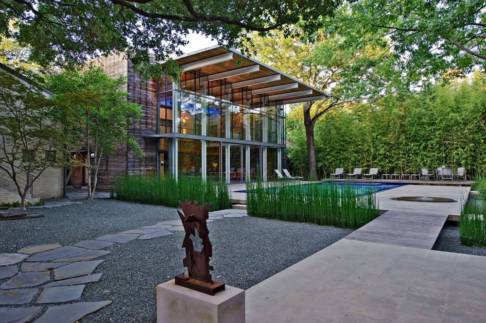 Garden Design Dallas garden design dallas simple decor fbfce climbing roses koi ponds House In The Garden Cunningham Architects Archdaily