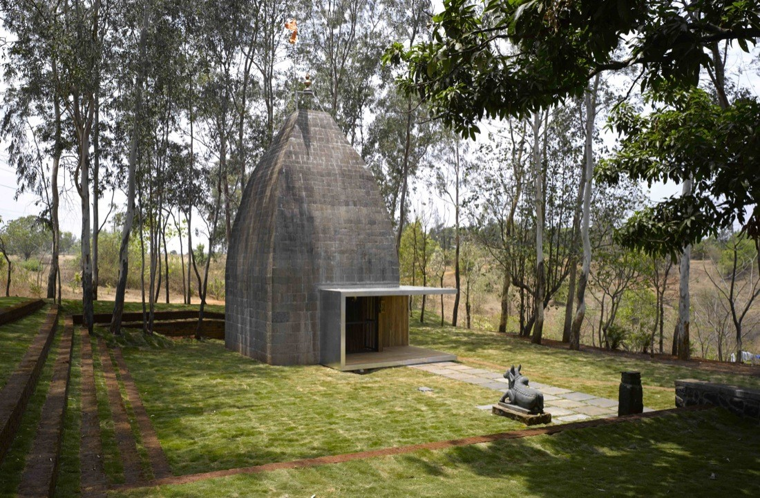 Shiv Temple Sameep Padora Amp Associates Archdaily