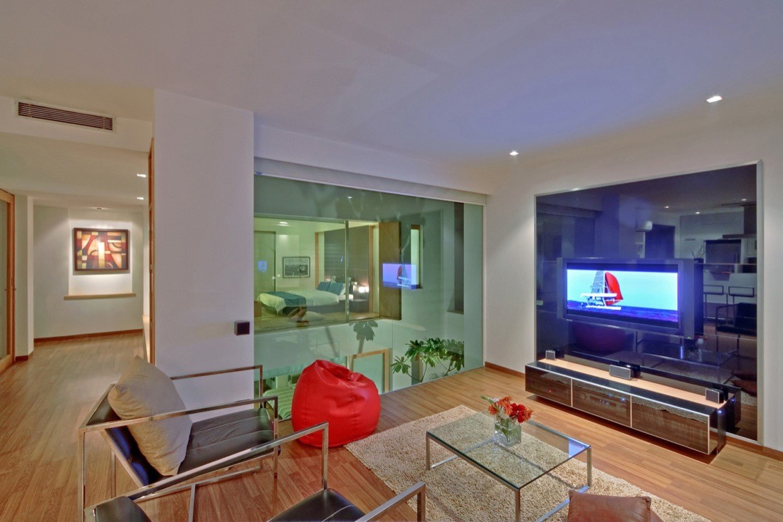 Gallery of b 99 house dada partners 11 Interior designers for home in gurgaon