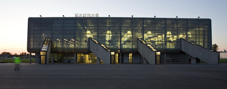 Kaunas Airport Passenger Terminal / Architectural Bureau G.Natkevicius & Partners, © G.Česonis