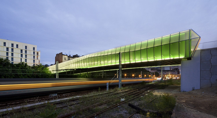 New Bridge in Choisy / Jacques Ferrier Architecture