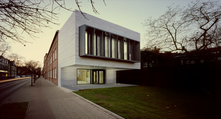 Kaldewei Entrance Pavilion and Reception Rooms / Bolles + Wilson, © Rainer Mader