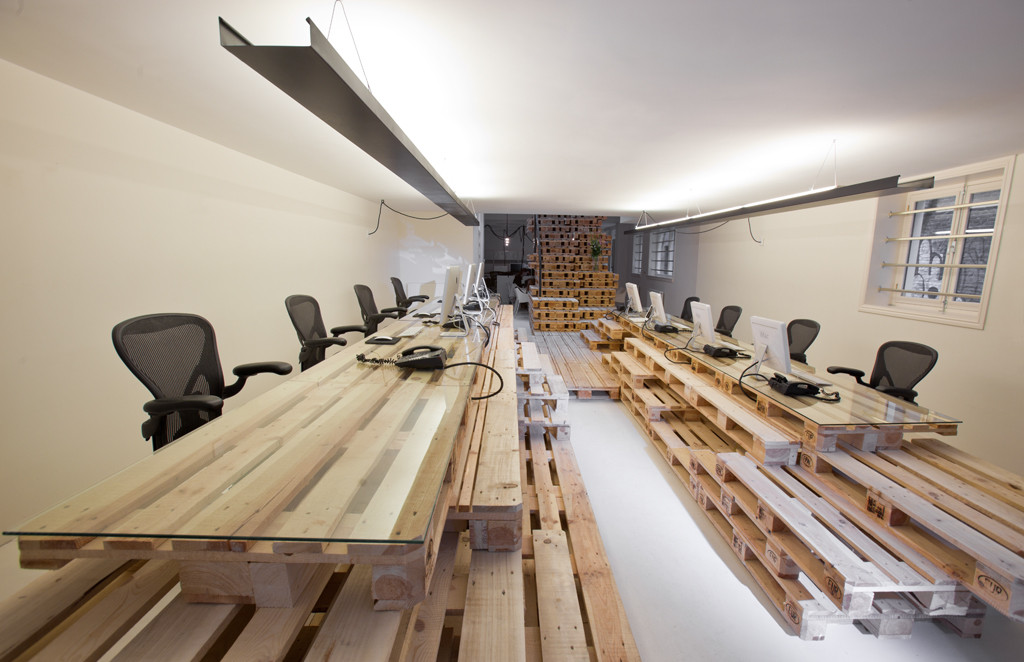 Brandbase Pallet Project / MOST Architecture, © Rogier Jaarsma