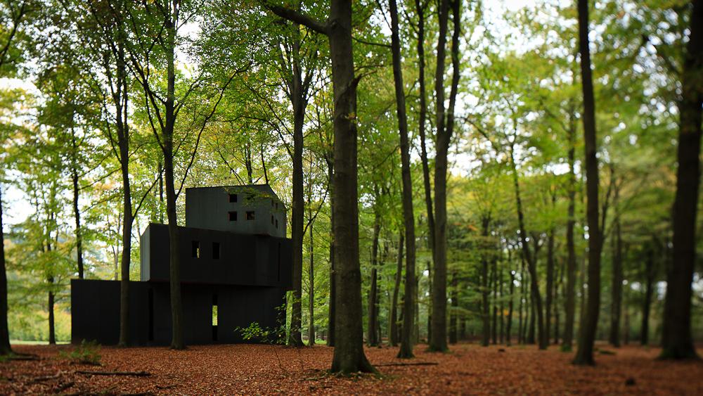 House of Dr. Jung at the Kröller-Müller Sculpture Garden / , © Pedro Kok