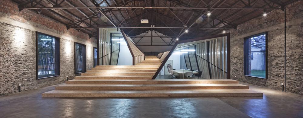AU Office and Exhibition Space / Archi Union Architects, © Sheng Zhonghai