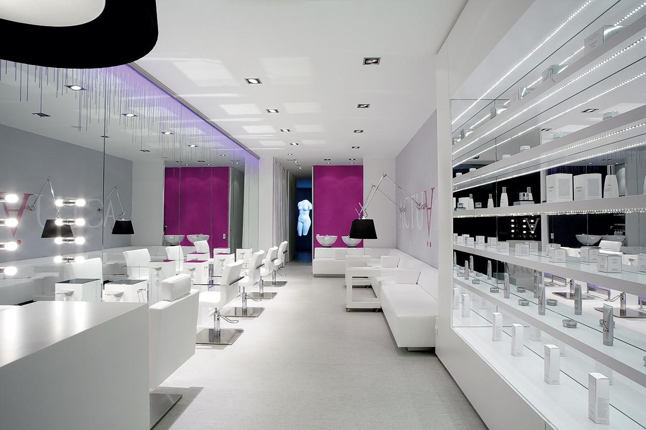 Sal n de belleza actu lis cm2 disseny plataforma - Imagenes de centros de estetica de lujo ...