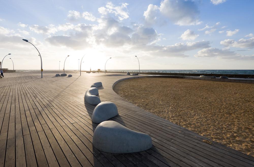 Tel Aviv Port Public Space Regeneration Project / Mayslits Kassif Architects, © Iwan Baan