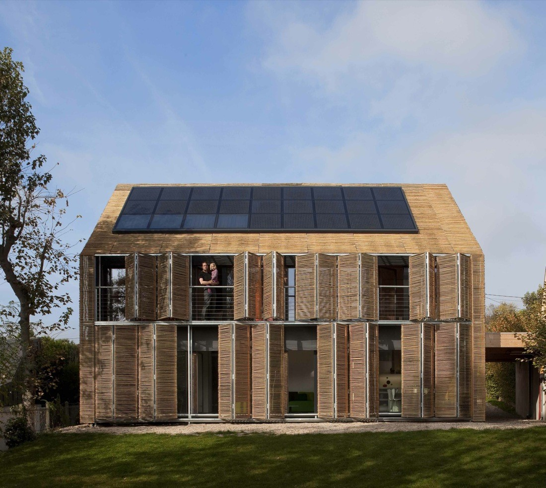 Traditional House Architecture passive house / karawitz architecture | archdaily