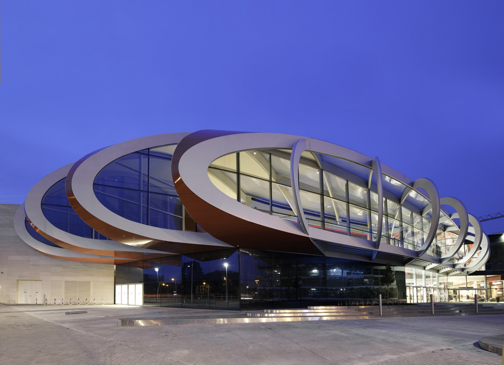 Mediacite / Ron Arad Architects, © Marc Detiffe