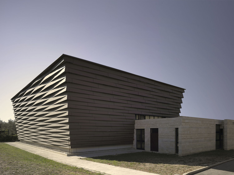 La Fonte Gymnasium / Fabio Capanni Workshop, © Christian Richters