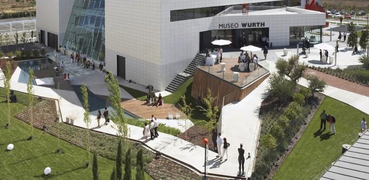 Würth La Rioja Museum Gardens / Dom Arquitectura, Courtesy of Dom Arquitectura