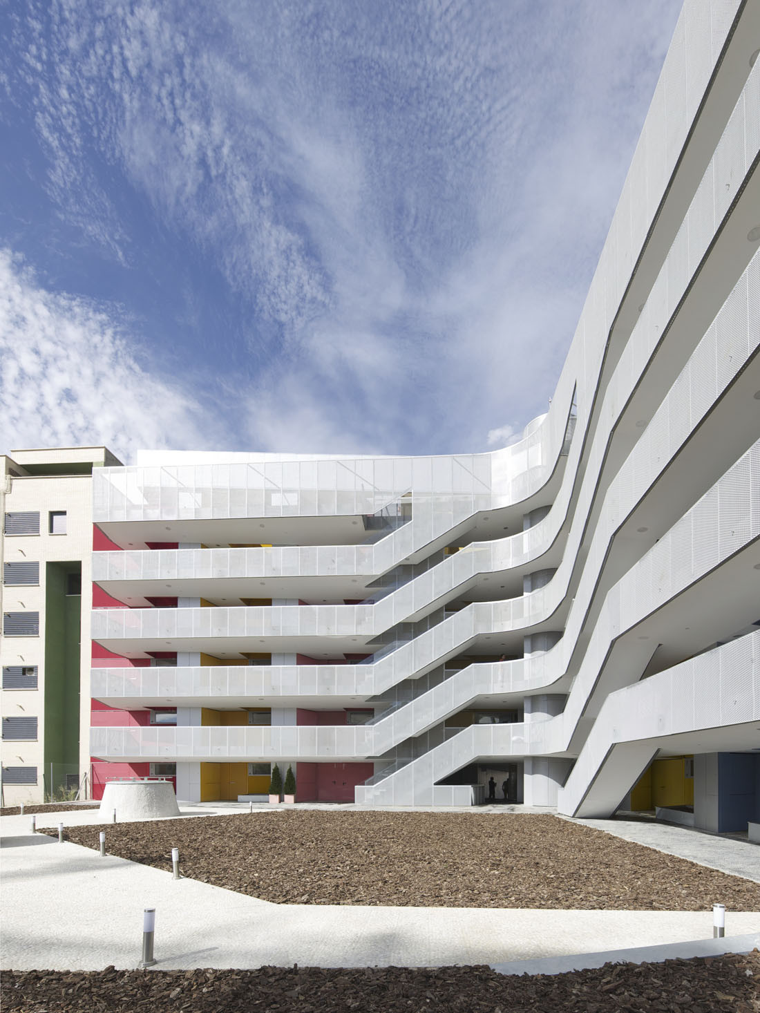 Social Dwellings in Vallecas / Paredes Pino, Courtesy of  paredes pino