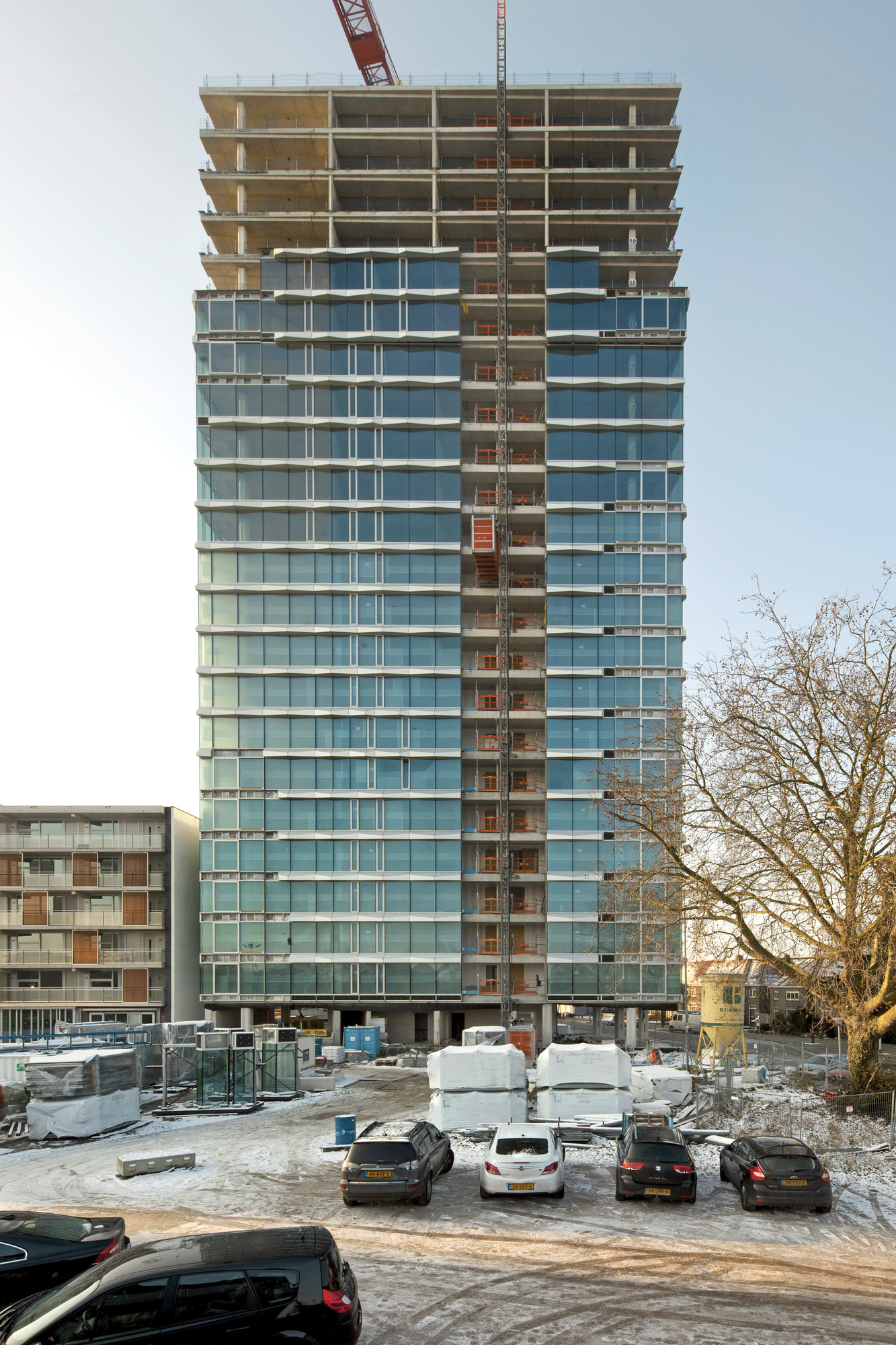 In Progress: E' Tower / Wiel Arets Architects, © Jan Bitter