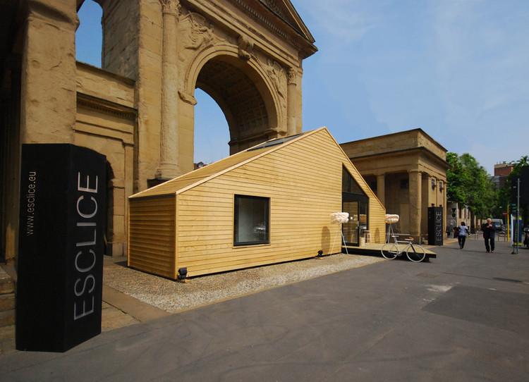 ESCLISE Mobile Design Home / Arhitektu Birojs Arhiidea, Courtesy of Arhitektu Birojs Arhiidea
