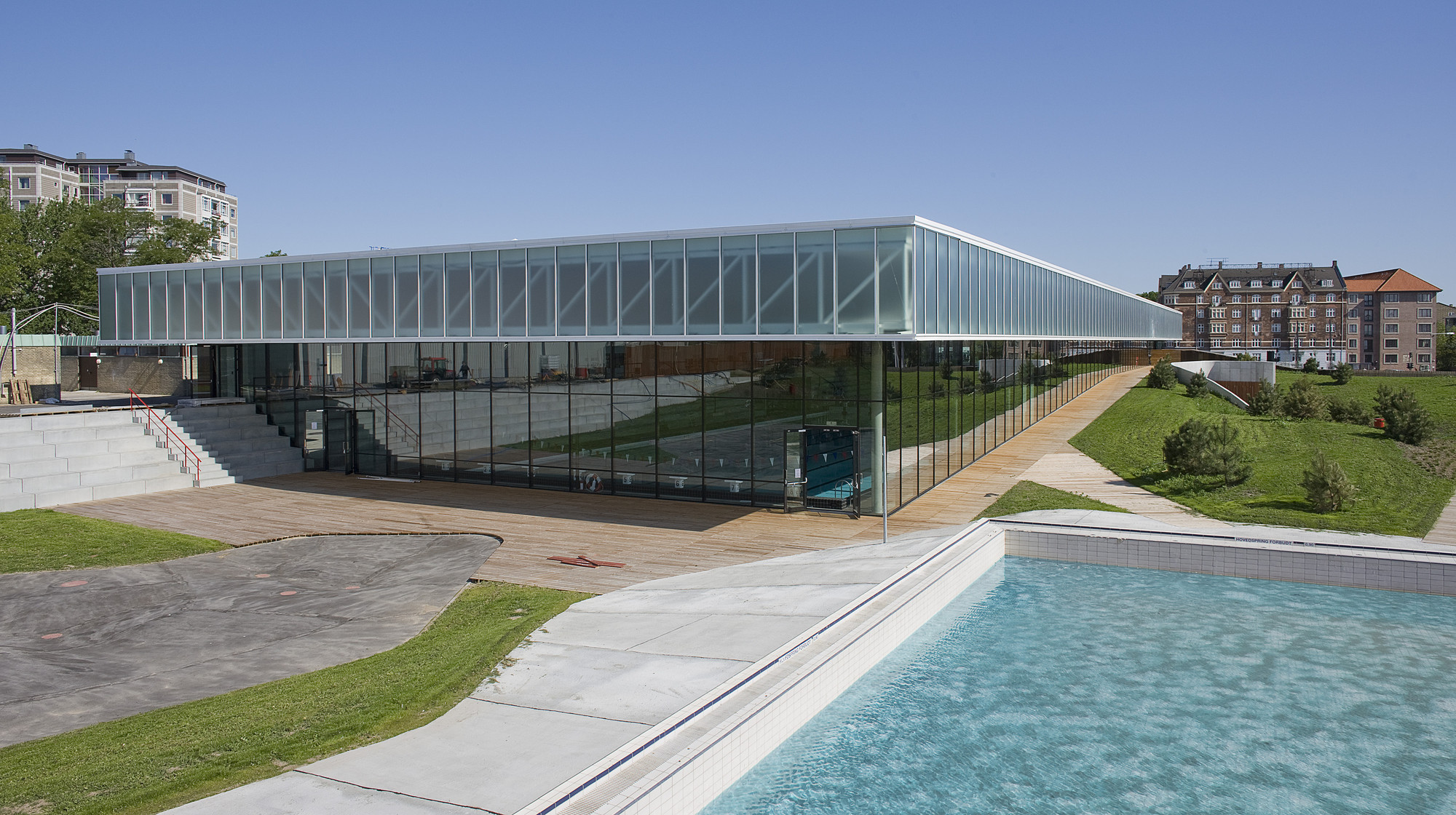 Swim Stadium Bellahoj Arkitema Architects Archdaily