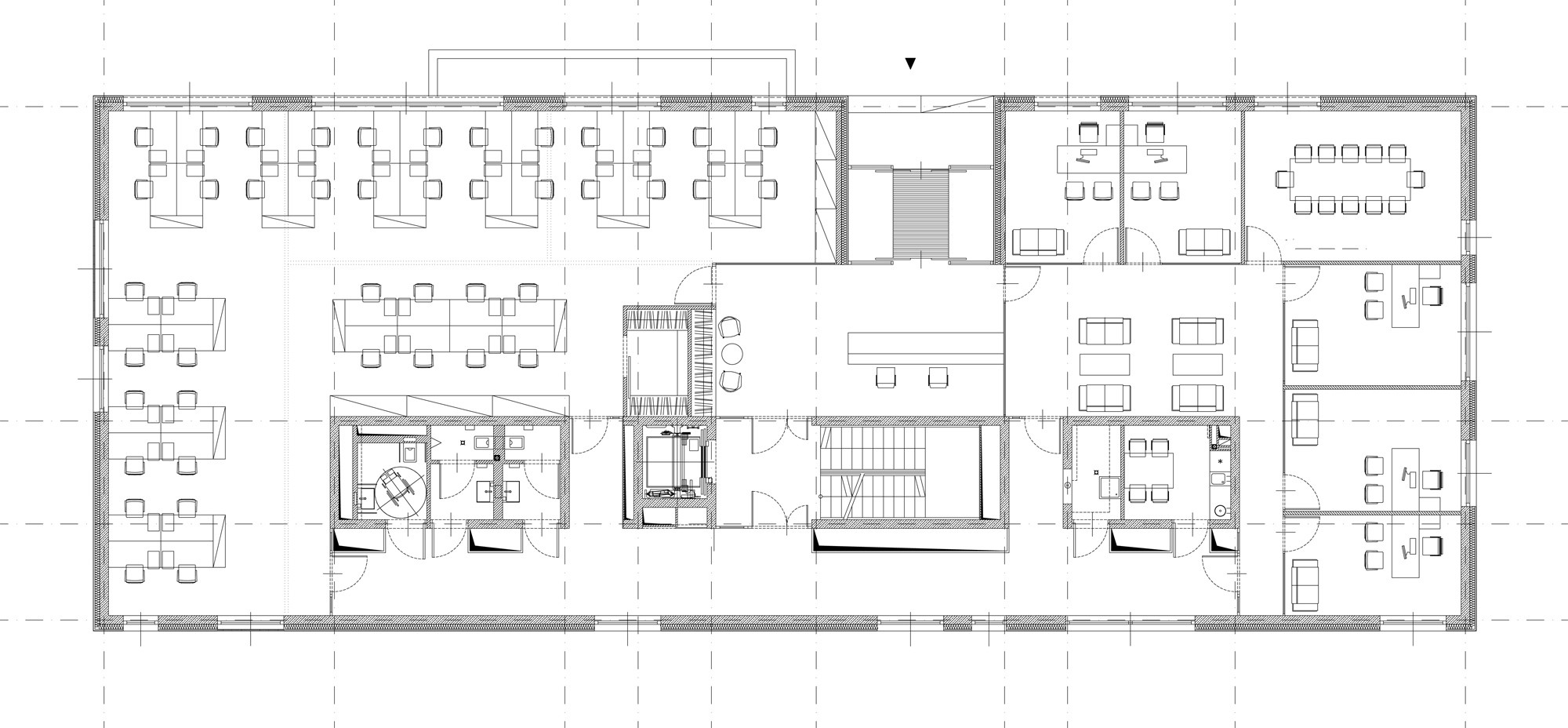 Gallery of r dl partner office building medusa group 17 for Office layout plan design