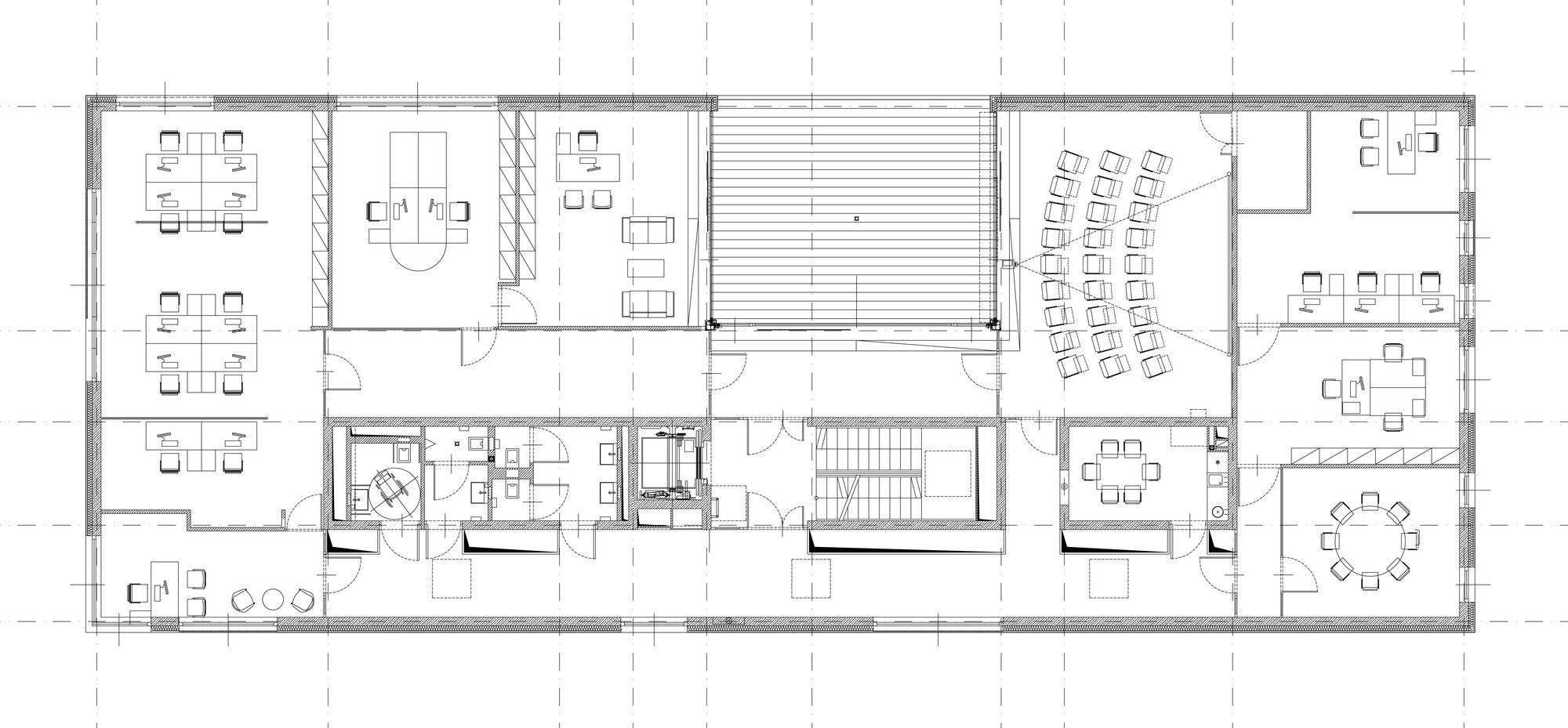 Gallery of r dl partner office building medusa group 19 for Office building design plans