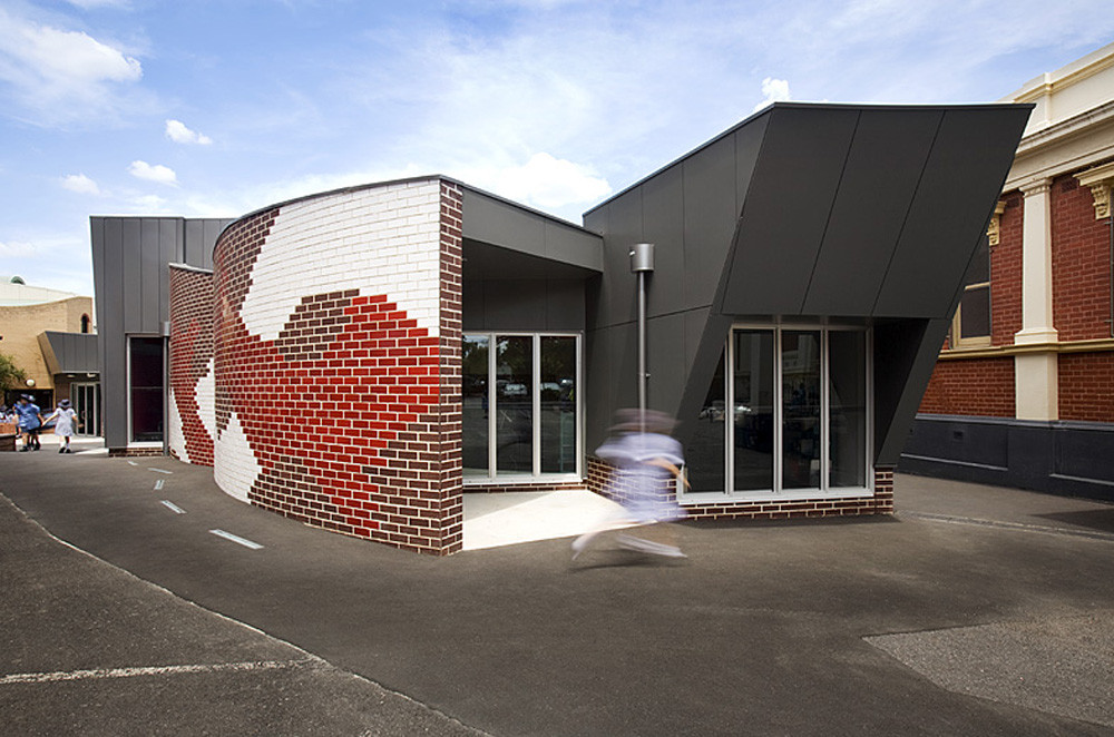 Sacred Heart Primary School Library / Suters Architects, © Gollings Photography