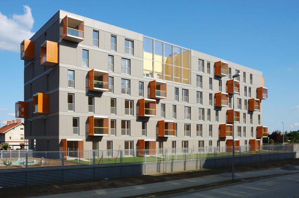 Social Housing Poljane / Bevk Perović arhitekti, © Miran Kambič