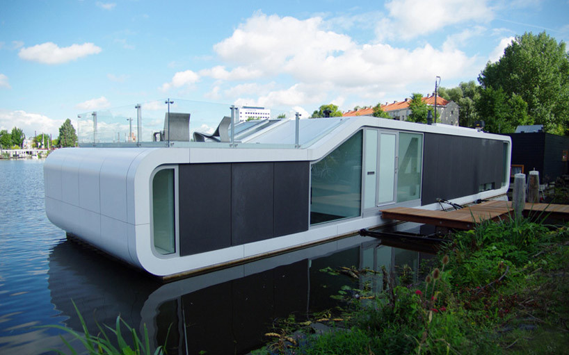 Water Villa Omval / +31 Architects, © colin morsch