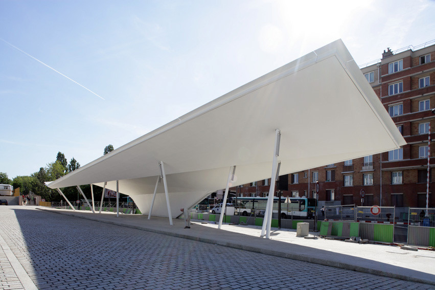 Gallery Of A Canopy And A Pavilion At Porte Des Lilas