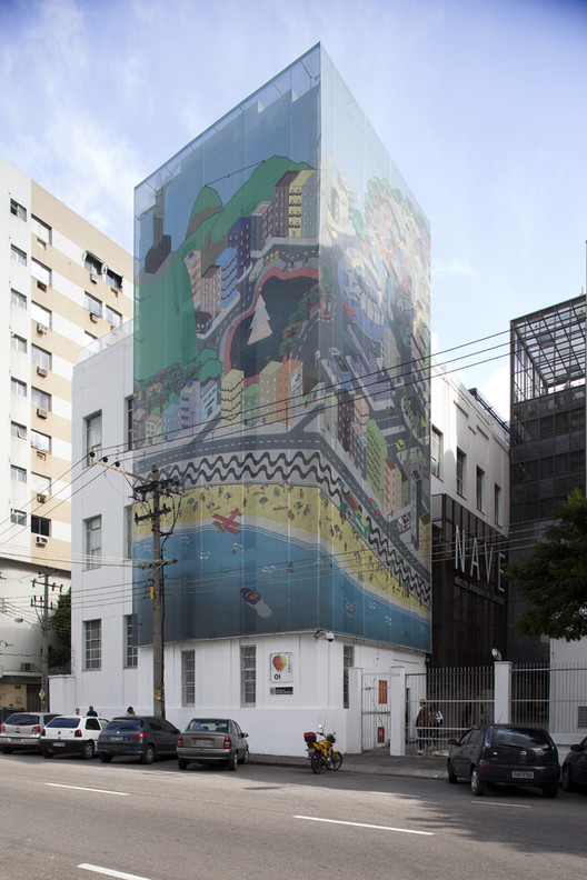 Escola Nave / Atelier OFICINA de Arquitectos, © Fran Parente
