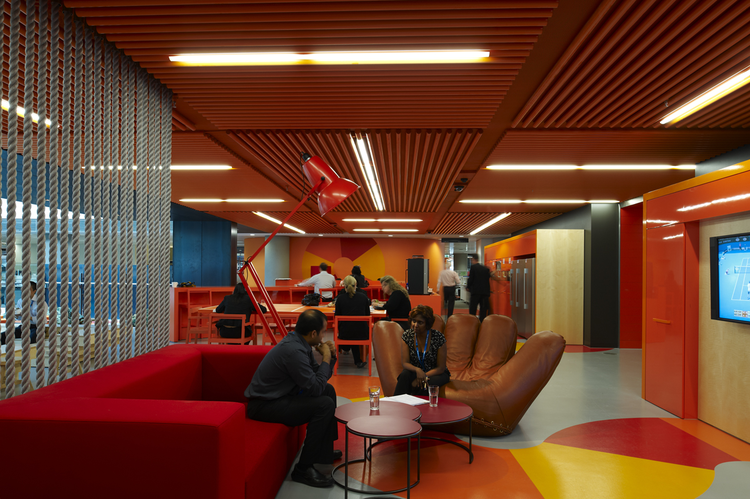 Anz office melbourne Commercial Earl Carter Archdaily Anz Centre Hassell Archdaily