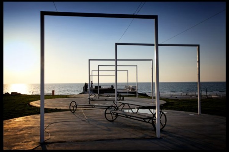 On the Way to the Sea / Derman Verbakel Architecture, © Yuval Tebol