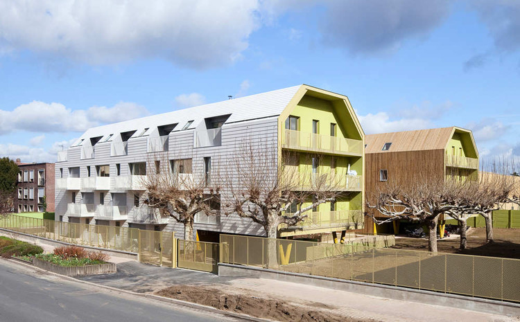 34 Social Housing Units In Bondy / Atelier Du Pont, © Luc Boegly