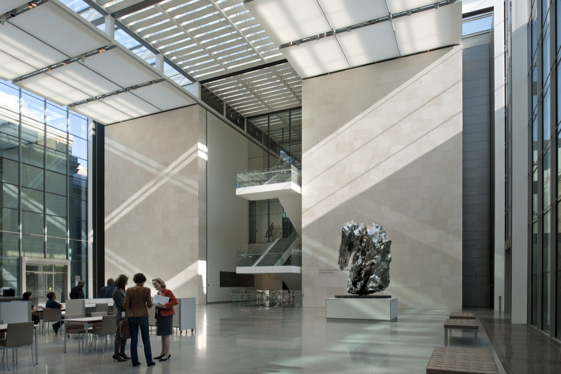 Museum Of Fine Art >> Gallery Of Art Of Americas Wing At The Museum Of Fine Arts Boston