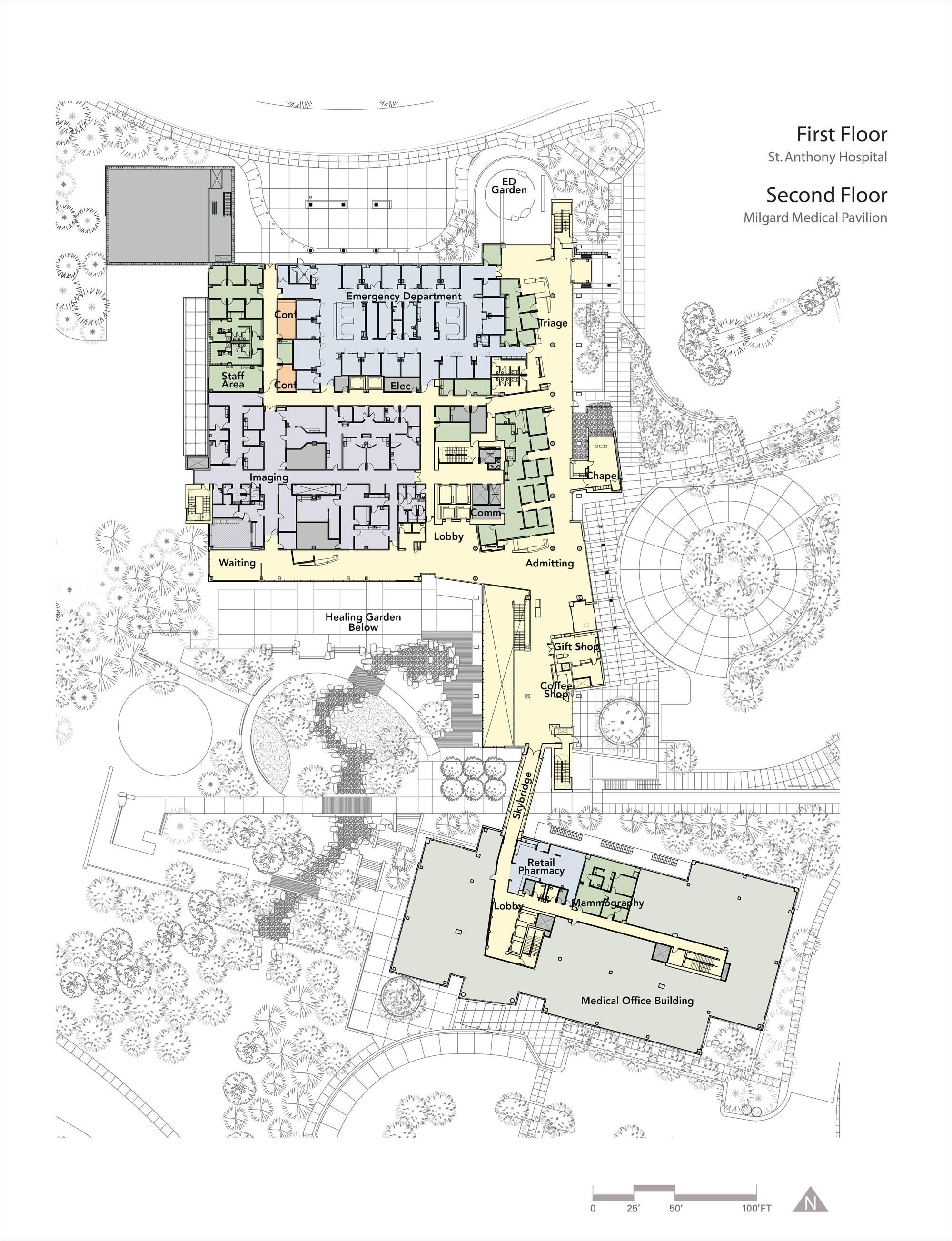 Endoscopy Lab Design: Gallery Of St. Anthony Hospital / ZGF Architects