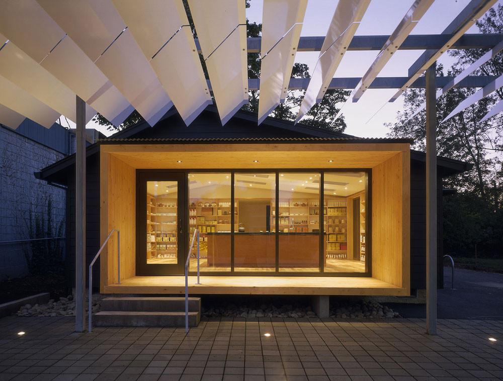 J tea atelier waechter archdaily for Architects eugene oregon