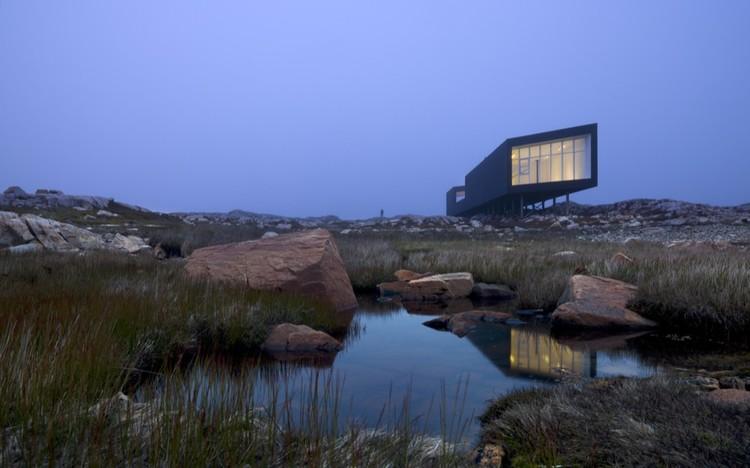 Fogo Island Long Studio / Saunders Architecture, © Bent Rene´Synnevåg
