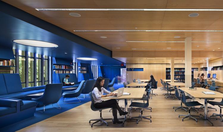 Biblioteca de Julian Street / Joel Sanders, © Peter Aaron