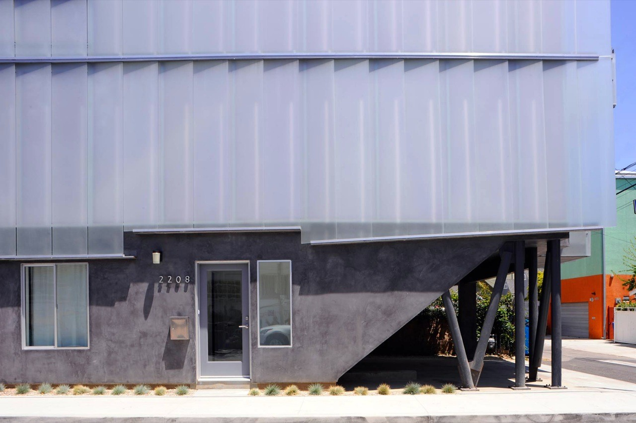 Glass Townhomes / Sander Architects, Courtesy of  sander architects