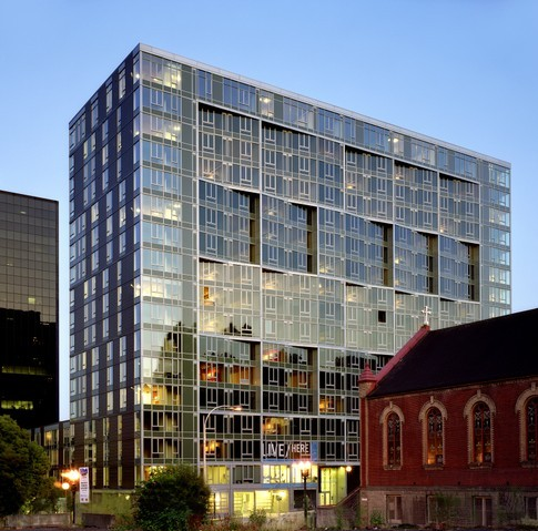 Gallery of cyan pdx building tha architecture inc for Architects corporation