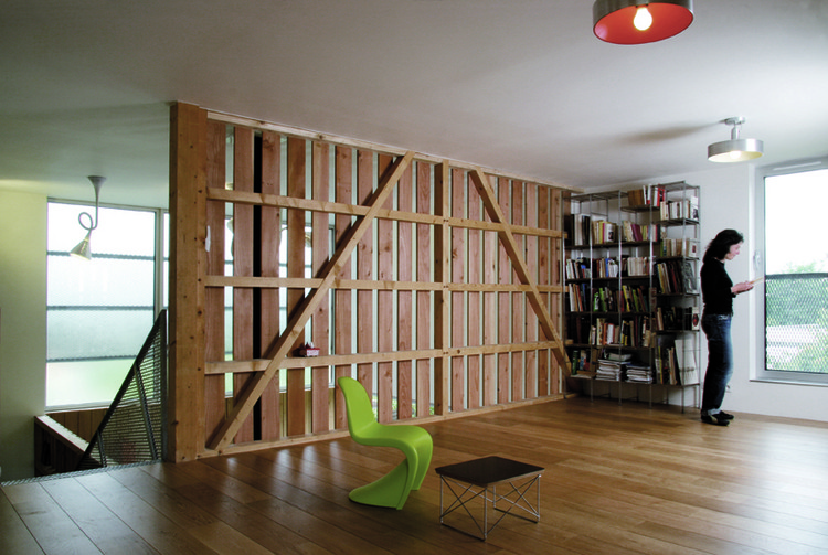 langue de bois rvl architects archdaily ForCloison Interieur Bois