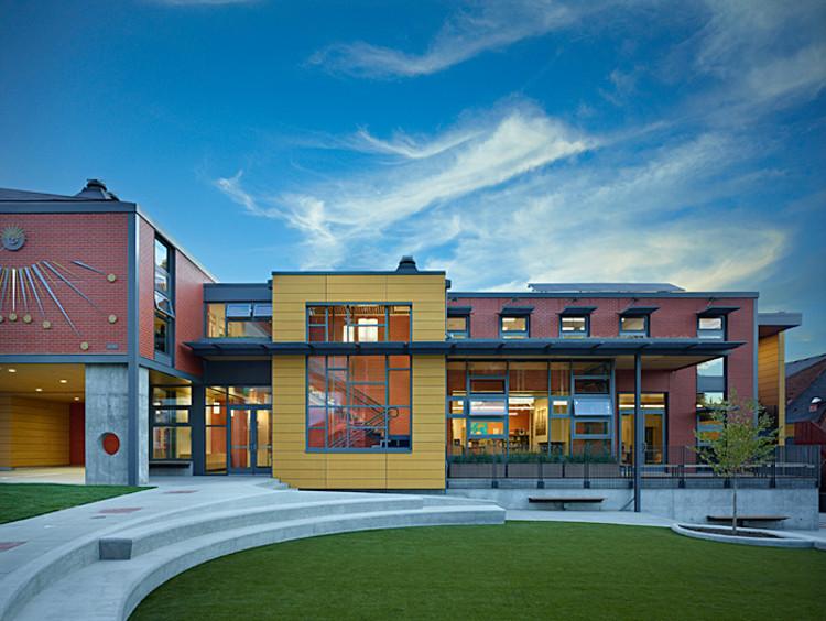 Epiphany School / Miller Hull Partnership, © Benjamin Benschneider