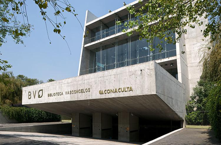 Vasconcelos Library / Alberto Kalach, © Iñigo Bujedo Aguirre