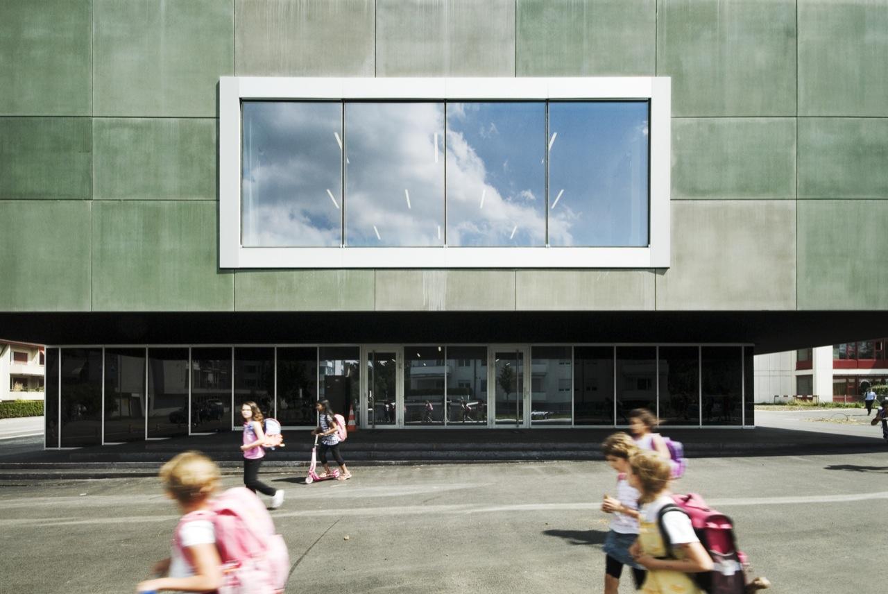 School Centre In Opfikon / e2a, © Radek Brunecky
