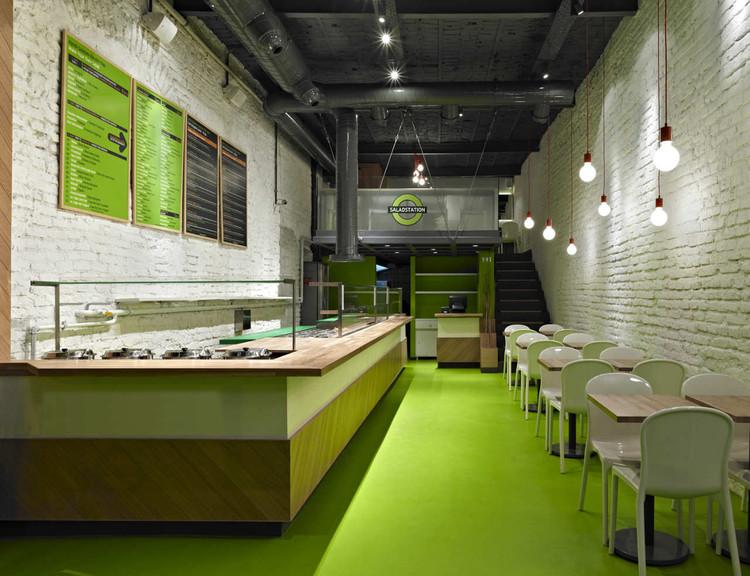 Saladstation / id design, © Ali Bekman