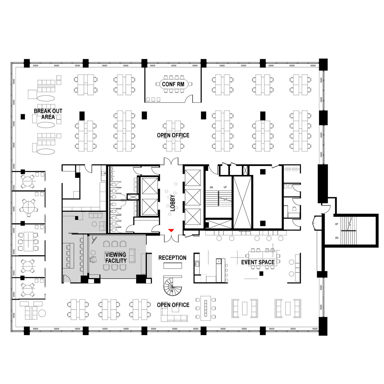 Office Layout Vastu Tips For Prosperity additionally 50137de928ba0d1507000411 Hall Partners Branding Research Agency Fabrica 718 Corey Yurkovich Plan in addition Restaurant Floor Plans Drafting Software furthermore Exhibitions likewise 3115 Ralston Avenue Hillsborough. on hall floor plan