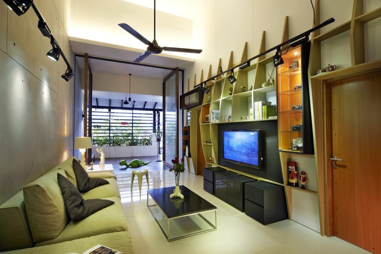 Mezzanine House Small Spaces
