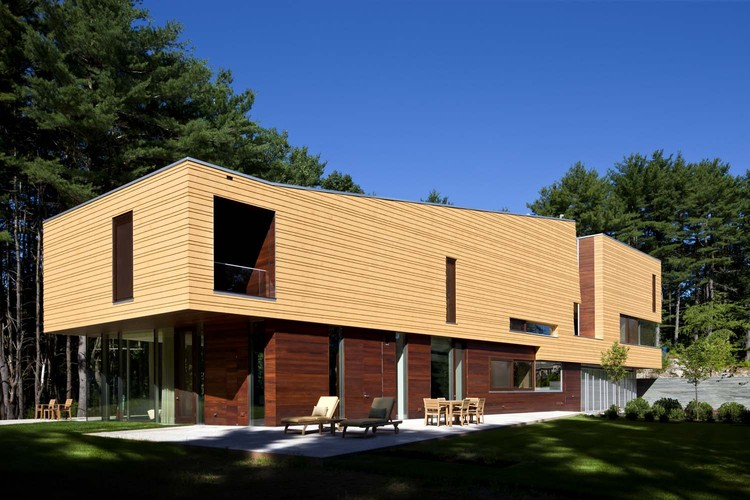 Page Road House / Andrew Cohen Architects, © Greg Premru Photography
