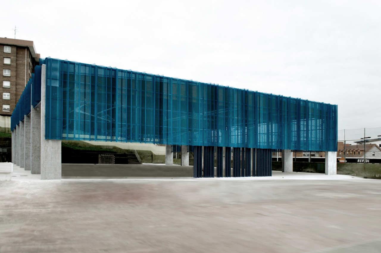 Sports Hall Barakaldo / Garmendia Arquitectos, © Carlos Garmendia Fernández