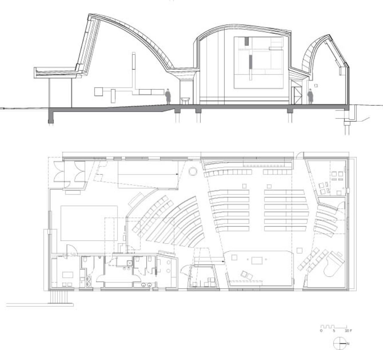 Chapel Of St Ignatius Floor Plan Gallery Of Ad Classics